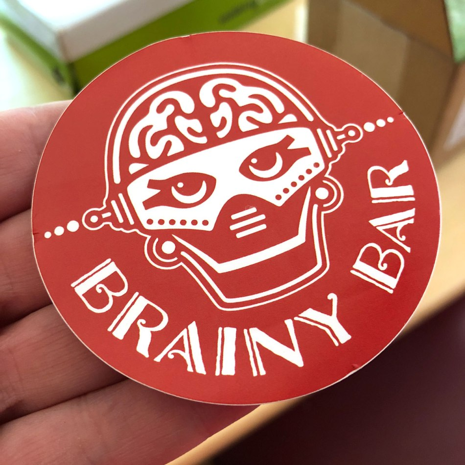 Brainy Bot Sticker
